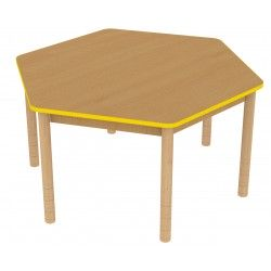 Stół sześciokątny