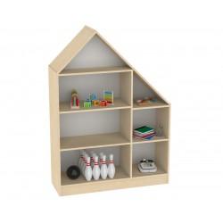 szafka chatka z półkami